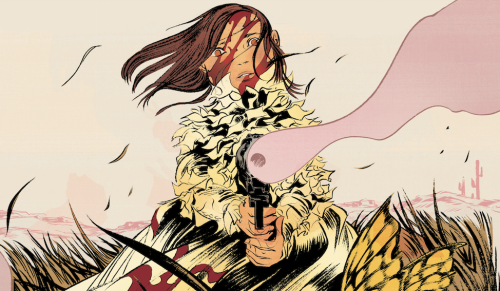 From Pretty Deadly #1 by Kelly Sue DeConnick and Emma Ríos